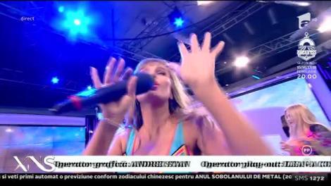 """Anna Lesko a încins atmosfera la """"Xtra Night Show""""! Ea și dansatoarele ei, în ținute provocatoare! Atenție, imagini interzise minorilor! VIDEO"""
