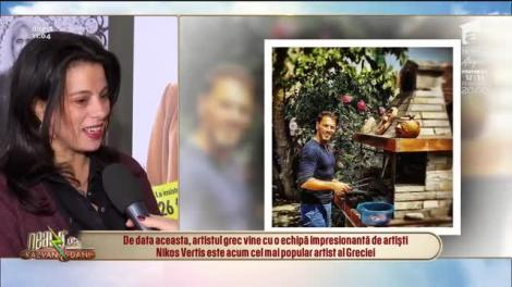 Nikos Vertis, trei nopți de vis alături de românce