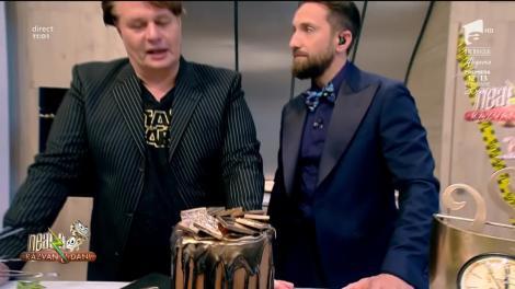 12 ani de Neatza cu Răzvan şi Dani! Vlăduţ a pregătit un desert special de zi aniversară - Tortul campionilor