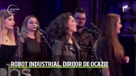 Premieră la Opera din Cluj Napoca. O orchestră de 40 de muzicieni a fost dirijată de un robot