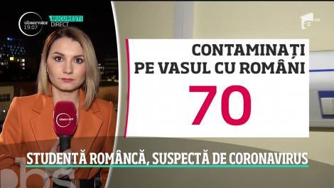 Studentă româncă, suspectă de coronavirus