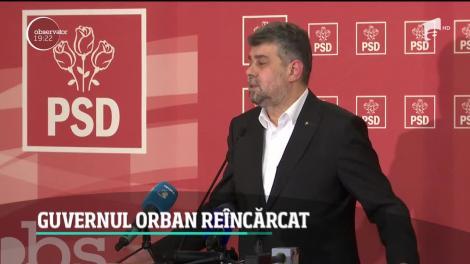 Ludovic Orban forţează anticipatele cu aceeaşi garnitură de miniştri