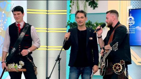Neatza cu Răzvan și Dani. Frații Jdieri cântă piesa Pământ