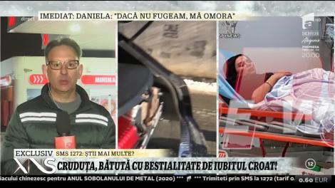"""Daniela Crudu, ajutată de angajații unei benzinării! Momente de coșmar pentru vedetă: """"Nu mai văd, am ochii lipiți și plini de sânge"""""""