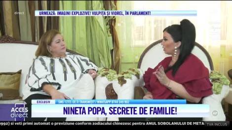 Celebra interpretă de muzică populară, Nineta Popa a trăit o viaţă mai ceva ca într-o telenovelă!