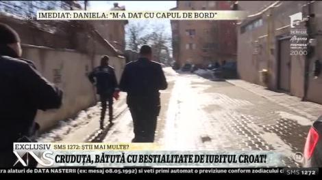 Daniela Crudu, desfigurată în bătaie de iubit! Croatul se consideră nevinovat!