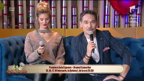 Neatza cu Răzvan și Dani. Oase, co-prezentator în sezonul 3 Asia Express: Făceam glume pe seama concurenților și râdeam de nu mai puteam
