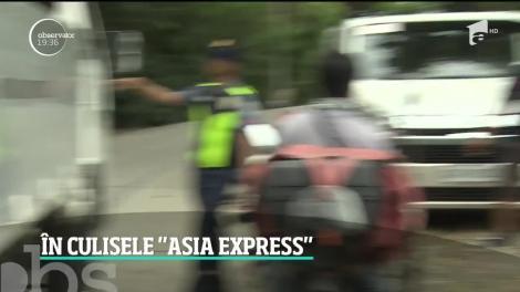 Securitatea concurenților de la Asia Express