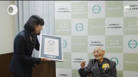 Cel mai bătrân om de pe planetă are aproape 113 ani şi un secret simplu pentru o viaţă lungă şi frumoasă