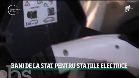 Bani de la stat pentru stațiile electrice