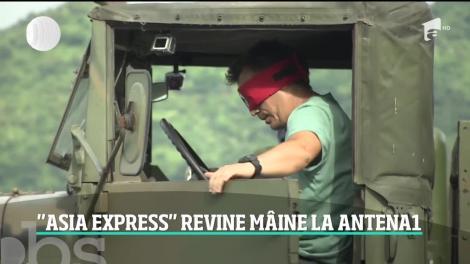 A mai rămas o zi până la debutul noului sezon al reality-showului Asia Express