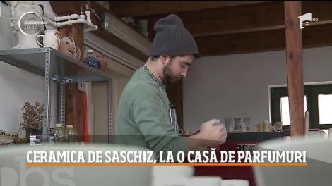 Ceramica albastră de Saschiz se va regăsi în colecția unei case de parfumuri celebre din Franța!