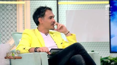 """Damian Drăghici a făcut super show, luni, la """"Neatza cu Răzvan și Dani""""  Video"""