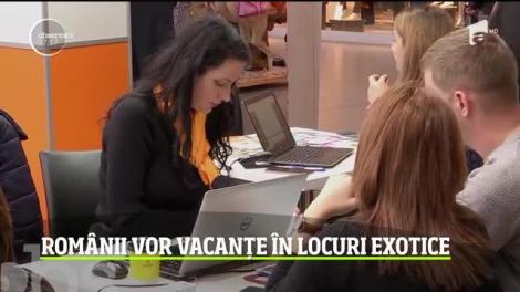 Românii vor vacanțe în locuri exotice