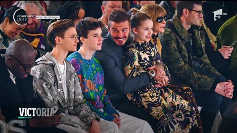 Colecția Victoriei Beckham de la Săptămâna Modei de la Londra