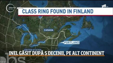 Povestea inelului pierdut în Statele Unite şi găsit după aproape 50 de ani în Finlanda