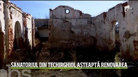Sanatoriul din Techirghiol așteaptă renovarea