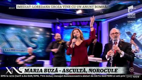 Xtra Night Show. Maria Buză cântă piesa Ascultă, norocule
