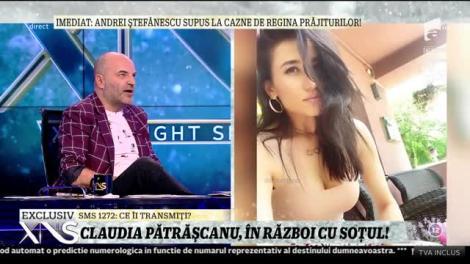Xtra Night Show. Claudia Pătrășcanu, în război cu soțul: Când m-am căsătorit am făcut-o cu tot sufletul, dar nu a mers așa cum am crezut