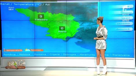 Prognoza Meteo, 6 februarie 2020 - Neatza cu Răzvan și Dani. Cer acoperit de nori și ploi slabe