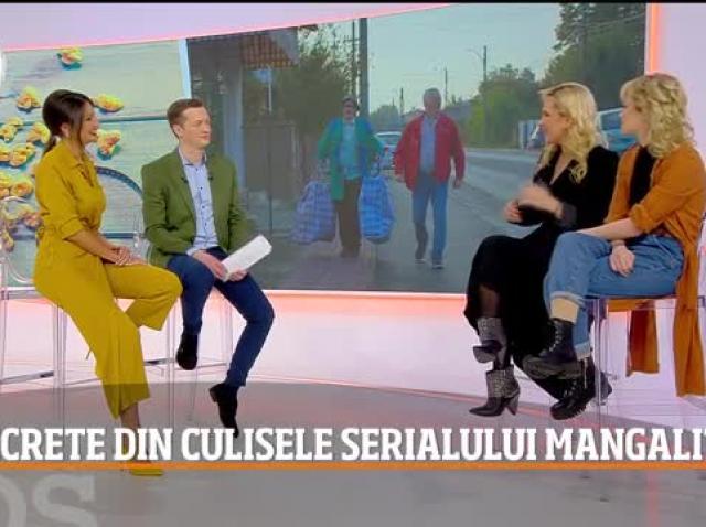 """""""Am inventat o limbă și păcălesc oamenii pe stradă, de plăcere"""". Paula Chirilă și Cătălina Mihai, dezvăluiri despre """"Mangalița"""", sezonul 2 – Video"""