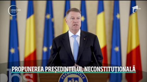 Guvernul Orban 2 a picat la Curtea Constituţională