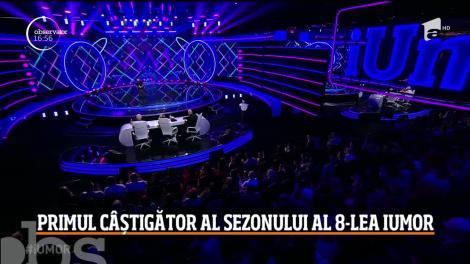 """Anghel Constantin a câştigat prima ediţie din sezonul al optulea al emisiunii """"iUmor""""!"""