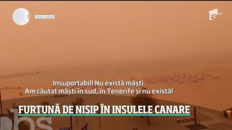 """Stare de urgență în Insulele Canare, din cauza furtunilor violente. Cel puțin 11.000 de români afectați. """"Mami, mă ustură ochii!"""""""