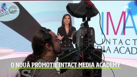 După trei luni de pregătire, cursanţii Intact Media Academy au susţinut examenul final