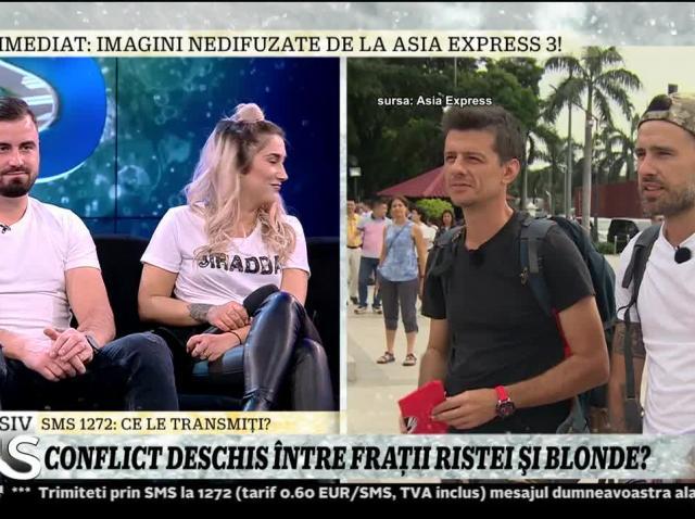 """Florin Ristei a dat buzna la """"Xtra Night Show""""! Apariție surpriză, pentru Carmen Grebenișan. """"E impulsiv des"""" - Video"""