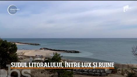 Sudul litoralului, între lux și ruine
