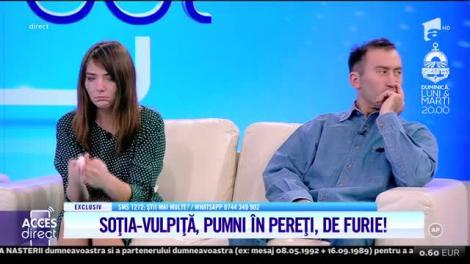 Viorel vrea să o dea pe mâna poliției pe soţia Vulpiţă!