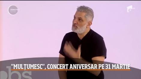 Damian Drăghici, 50 de ani de viață, în mijlocul publicului. Artistul își sărbătorește aniversare pe scenă