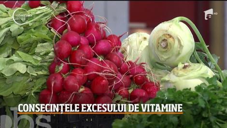 Atenție! Vitaminele se iau cu măsură! Atât carența, cât și excesul lor, poate dăuna organismului - Video