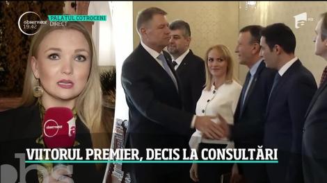Soarta viitorului Guvern se decide la Palatul Cotroceni