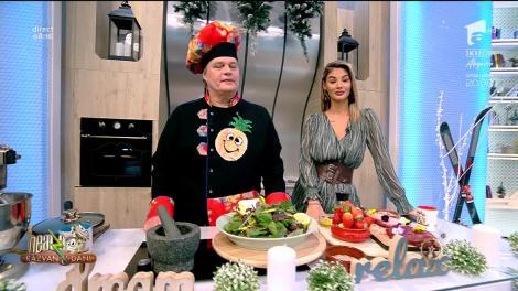 Rețeta Zilei - Neatza cu Răzvan şi Dani. Salata prieteniei, un preparat deosebit cu mușchi de vită și căpșuni