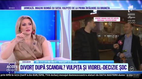 """Divorț după scandal? Vulpita și Viorel Stegaru au ajuns la cuțite. Veronica a recunoscut că nu-și iubește soțul: """"Crezi că nu găsesc eu unde să mă duc?"""""""