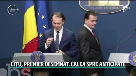 Florin Cîţu este premierul desemnat să formeze un nou Guvern
