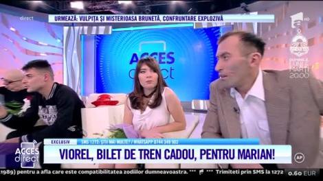 """Telenovela """"Vulpiţa"""". Viorel Stegaru, bilet de tren cadou, pentru Marian Niculiţă!"""
