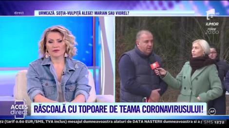 """Răscoală cu bâte şi topoare, de teama coronavirusului. Decizia autorităților a scos oamenii din case: """"Iese cu moarte! Să-i ducă în Parlament!"""""""