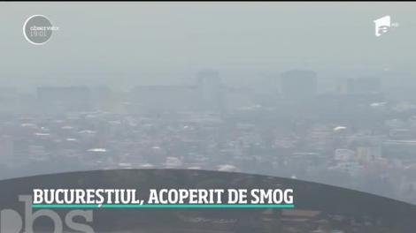 S-a respirat moarte în București! Aerul a fost de zece ori mai otrăvit. Situaţia gravă a fost confirmată de oficiali, care au dat vina pe vânt şi pe curăţenia de Lăsata Secului