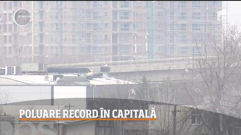 Alertă de poluare în Capitală! S-au înregistrat depăşiri de peste o mie la sută ale valorilor normale