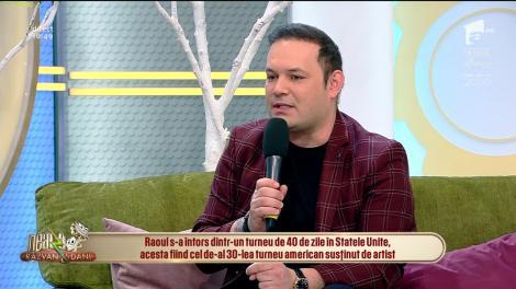 """Raoul, super show la Neatza cu Răzvan și Dani! Ascultă aici piesă """"Ascultă-mă, iubește-mă"""""""