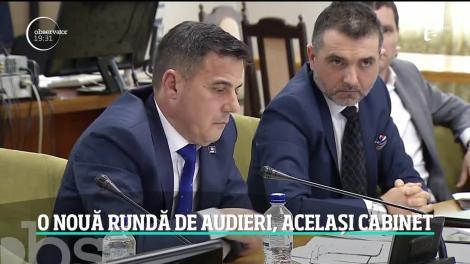 O nouă rundă de audieri în Parlament. Premierul desemnat, Florin Cîţu a trimis în comisiile de specialitate aceiaşi miniştri propuşi în urmă cu două săptămâni de Ludovic Orban