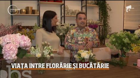 Chef Babană are afacere cu flori, dar a ajuns să facă bani și din gătit! A venit la Chefi la cuțite, de fapt, ca să o cunoască pe Gina Pistol
