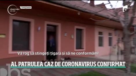 Al patrulea caz de coronavirus a fost confirmat în România. Testele făcute în cazul unui bărbat din Timişoara au ieşit pozitive