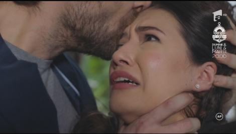 Sacrificiul, sezonul 2. Maria (Mădălina Bellariu), strânsă de gât și amenințată de Victor (Ștefan Gomoi): Te distrug!