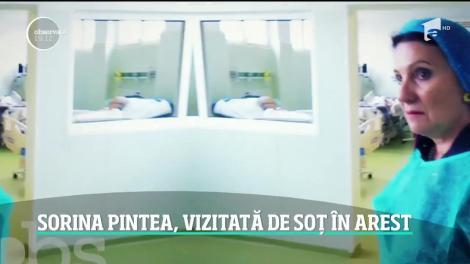 Sorina Pintea, vizitată de soț în arest