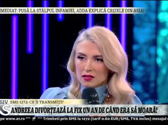 Xtra Night Show. Andreea Bălan divorțează. Marele regret al artistei: Fetele noastre nu o vor vedea pe mami care se iubește cu tati. Nu vor avea reperul de familie. Mă doare