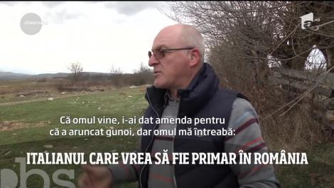Un italian vrea să devină primar în comuna Porumbacu de Jos, judeţul Sibiu